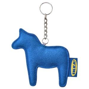 ЭФТЕРТРЭДА Кольцо для ключей, синий