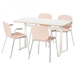 БИЛЬСТА / СВЕН-БЕРТИЛЬ Стол и 4 стула