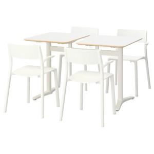 БИЛЬСТА / ЯН-ИНГЕ Стол и 4 стула