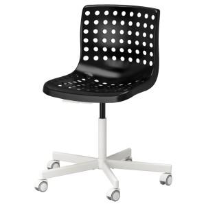СКОЛБЕРГ / СПОРРЕН Рабочий стул, черный, белый