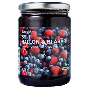 SYLT HALLON & BLÅBÄR Джем из малины и черники, ., 0.425кг