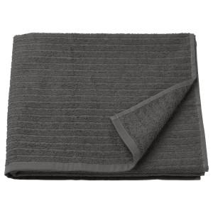 ВОГШЁН Банное полотенце, темно-серый