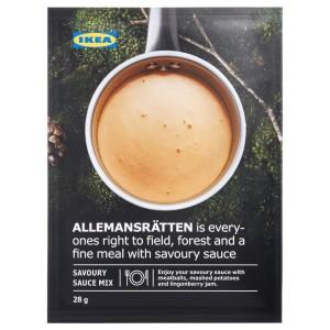 ALLEMANSRÄTTEN Сливочный соус