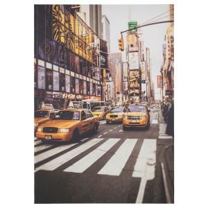 ПЬЕТТЕРИД Картина, Такси Нью-Йорка
