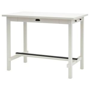 НОРДВИКЕН Барный стол, белый