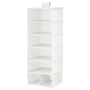 СТУК Модуль для хранения/7 отделений, белый/серый