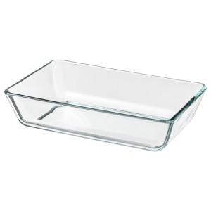 МИКСТУР Форма/блюдо д/дхвк, прозрачное стекло