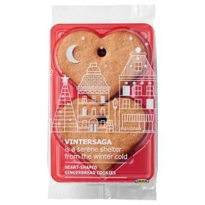 VINTERSAGA Имбирное печенье, сердечки