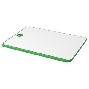 МАТЛЮСТ Разделочная доска, зеленый/белый