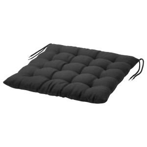 ХОЛЛО Подушка на садовый стул, черный
