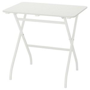 МЭЛАРО Садовый стол, белый складной белый