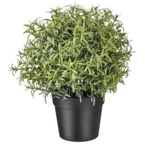 ФЕЙКА Искусственное растение в горшке, Розмарин