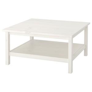 ХЕМНЭС Журнальный стол, белая морилка