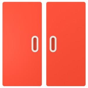 ФРИТИДС Дверь, красный, 2шт