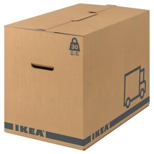 ЭТЭНЕ Упаковочная коробка, коричневый, 2шт