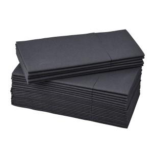 МОТТАГА Салфетка бумажная, черный, 25шт