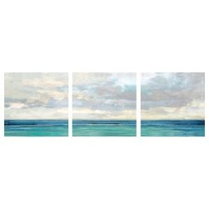 ПЬЕТТЕРИД Картина, 3 шт, Океан и небо