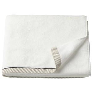 ВИКФЬЕРД Банное полотенце, белый