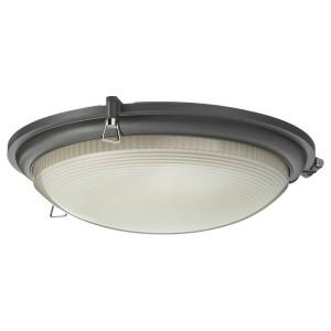 БУСПРЕТ Светодиодный потолочный светильник, антрацит