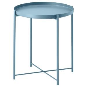 ГЛАДОМ Стол сервировочный, синий
