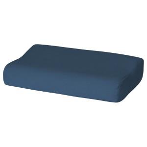 РОЛЛЕКА Наволочка д/подушки(ппу/эфф памяти), темно-синий