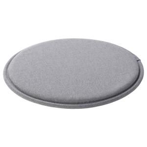 СУННЕА Подушка на стул, серый