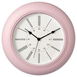 СКАЙРОН Настенные часы, розовый