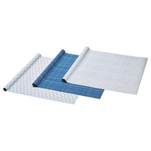 ВИНТЕР 2019 Рулон оберточной бумаги, белый, синий с рисунком, 9м