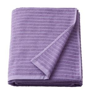 ВОГШЁН Простыня банная, фиолетовый