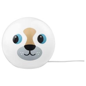 ЭНГАРНА Настольная лампа, светодиодная, «собака»