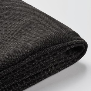 ЙЭРПОН Чехол на подушку спинки, для сада антрацит темно-серый