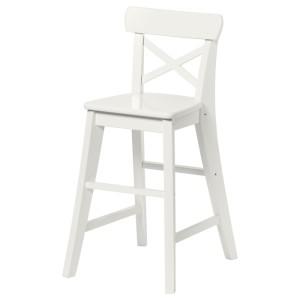 ИНГОЛЬФ Детский стул, белый