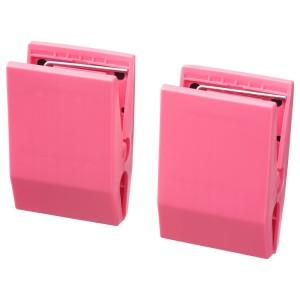 ТОТЭБО Зажим с магнитом, розовый, 2шт
