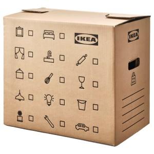 ДУНДЕРГУББЕ Коробка для переезда, коричневый