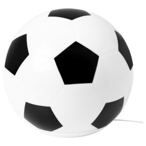 ЭНГАРНА Настольная лампа, светодиодная, «футбольный мяч»
