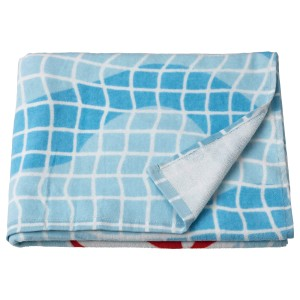 СПОРТСЛИГ Банное полотенце, рисунок «бассейн»