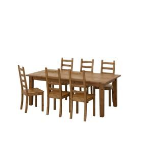 СТУРНЭС / КАУСТБИ Стол и 6 стульев