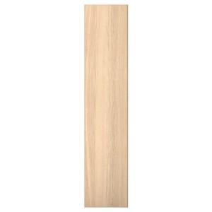 РЕПВОГ Дверца с петлями, дубовый шпон, беленый