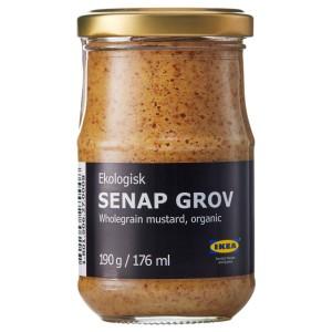 SENAP GROV Горчица цельнозерновая