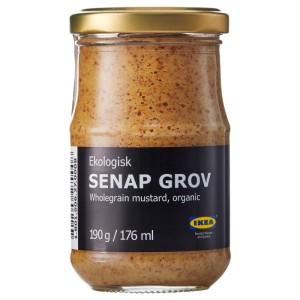 SENAP GROV Горчица цельнозерновая, ., 0.19кг