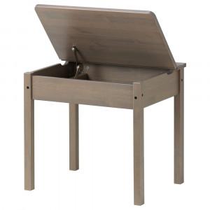 СУНДВИК Стол с отделением для хранения