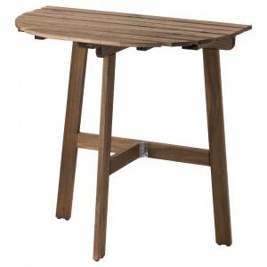 АСКХОЛЬМЕН Пристенный стол, садовый