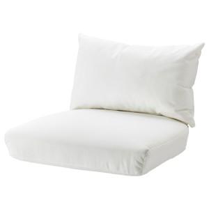СТОКГОЛЬМ 2017 Комплект подушек-сидений н кресло, Рёстонга белый