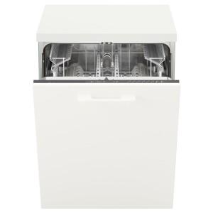 РЕНГЁРА Встраиваемая посудомоечная машина, серый