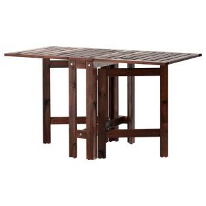 ЭПЛАРО Складной стол, садовый, коричневая морилка