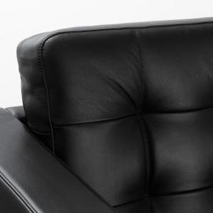 ЛАНДСКРУНА Каркас дивана 2-местного, Гранн, Бумстад черный