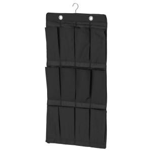 СКУББ Подвесной модуль д/обуви/16карманов, черный