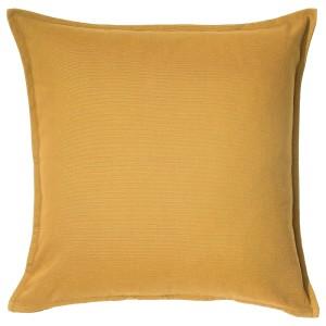 ГУРЛИ Чехол на подушку, золотисто-желтый
