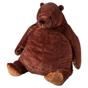 ДЬЮНГЕЛЬСКОГ Мягкая игрушка, бурый медведь
