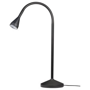 НЭВЛИНГЕ Рабочая лампа, светодиодная, черный